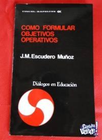 COMO FORMULAR OBJETIVOS OPERATIVOS