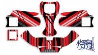 Kit Calcos Karting Lines Laminado 3m Estandar