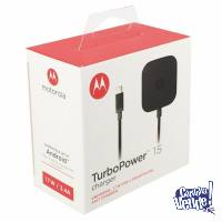 Cargador Original TurboPower Moto X Play Pure Droid X2