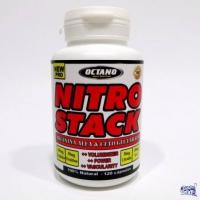 NITRO STACK x 120 CAPSULAS ( OXIDO NITRICO POTENCIADO )