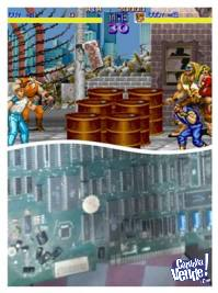 PLACA JAMMA ARCADE FINAL FIGHT