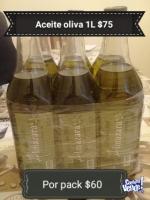 Aceite oliva !!!! Extra virgen por 1ltr