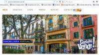 Sitio web inmobiliario en venta.