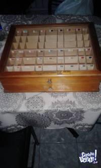 caja exhibidora
