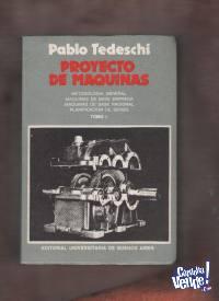 PROYECTO DE MAQUINAS  Pablo Tedeschi  2 tomos  USS 20