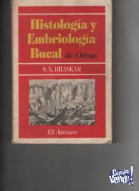 2 LIBROS DE ODONTOLOGIA Histologia-Embriologia/Mater. $ 2490