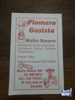 PLOMERO GASISTA