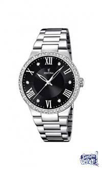 Reloj de mujer FESTINA F16719/2 correa acero inox ORIGINAL