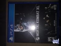 Juego play 4..Mortal kombat XL