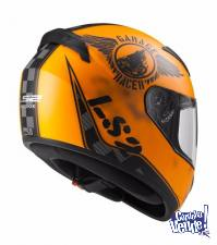 CASCO LS2 352-FAN MATT ORANGE INTEGRAL