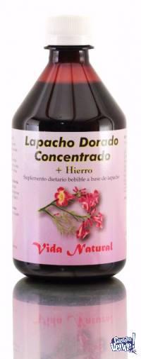 Lapacho Dorado Concentrado + Hierro 500cc. (APTO CELÍACO)