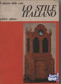 MUEBLES ANTIGUOS:EL ESTILO ITALIANO  ed.Gorlich  $ 900