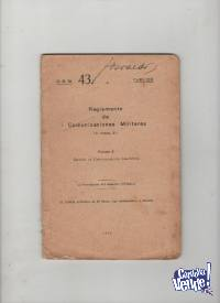 2 REGLAMENTOS DE COMUNICACIONES MILITARES  1932  $ 890