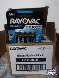 Pilas Rayovac AA caja x48 unidades