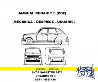MANUAL DE MECANICA RENAULT 6