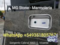 OFERTA MESADA STANDARD 1.40 $8000 CON BACHA INCLUIDA!!