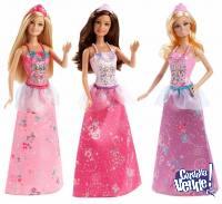Muñeca Barbie Princesa Mezcla Y Combina Fashion Mattel