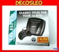 Sega 16 Bits The Alien System Sellado