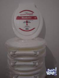 Asientos sanit. de PVC , Universales para todo inod. ovalado