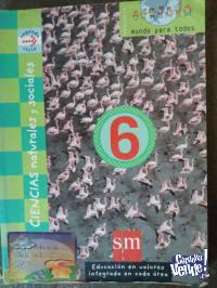 CIENCIAS NATURALES Y SOCIALES 6  2° CICLO S.M. ediciones