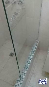 mampara para baño