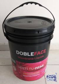 Membrana Líquida Poliuretanica Doble Face 20 kg.