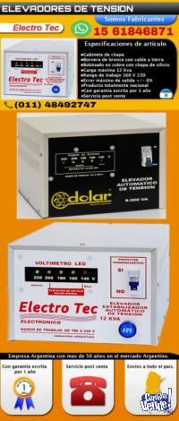 Elevador de tensión  [ ventas en Moron ] 011- 48492747