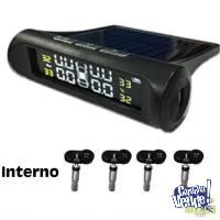 Sistema Sensor De Presión Interno De Neumático Solar Usb