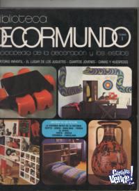 REVISTAS DECORMUNDO  tamayode Gibelli  12 numeros  $ 3000