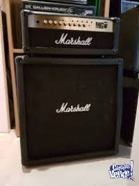 Marshall Mg100fx + caja 4x12 (celestion) + footswitch 4 bot