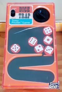 Juego de Mano Pocketeers Dice Trap - Tomy Pocket Game