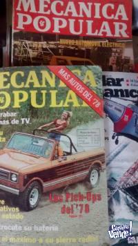 16 Revistas Mecanica Popular y otras.