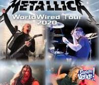 Entrada Metallica Word Wired Tour 2020 18/04