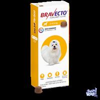 Masticable bravecto antipulgas para perros duración 3 meses