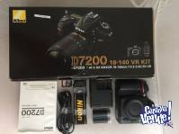 Nikon D7200 24.2 MP AF-S 18-140mm VR Kit Lens Digital SLR Ca
