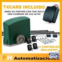 Kit Motor Portón Corredizo Automático Eléctrico 500kg Seg