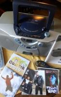Radiograbador CD-Mp3. Manual- control - 5cds de regalo