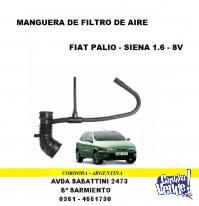MANGUERA FILTRO AIRE FIAT PALIO-SIENA NAFTA