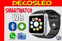 Smartwatch Reloj Inteligente W8 Celular Touch Iphone Android