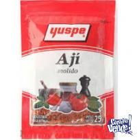 condimentos yuspe