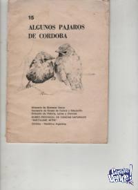 PAJAROS DE CORDOBA pequeño fasciculo  $ 150