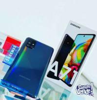 """Samsung Galaxy A71 6.7"""" FHD+6 GB RAM,128 GB ROM,64MP+24MP"""