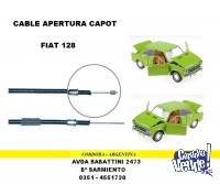 CABLE CAPOT FIAT 128