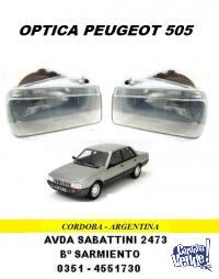 OPTICA PEUGEOT 505