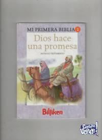 MI PRIMERA BIBLIA la Biblia para niños  edit. España $ 200