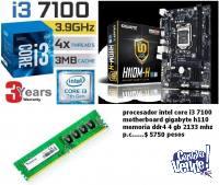 promo actualizacion core i3 7100     con garantia de 3 años