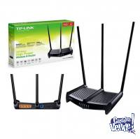 Router Tp Link Wr9941hp 450 Mbps Wifi Rompemuros Fotopoint