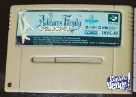 The Adams Family /Cartucho Super Nintendo
