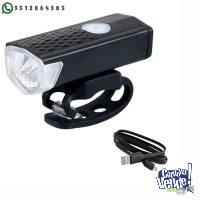 Luz de bicicleta USB recargable