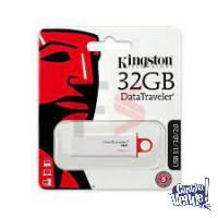 Pendrive Kingston Datatraveler G4 32gb 3.0 Blanco/rojo